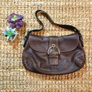 Coach Brown Leather Soho Mini Bag